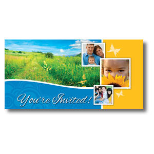 "Summer Path 11 x 5.5 Oversized Postcard 11"" x 5.5"" Oversized Postcards"