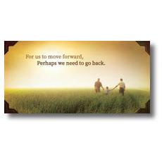 Move Forward XLarge Postcard