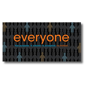 Everyone Church Postcards