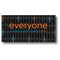 Everyone XLarge Postcard