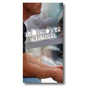 reDiscover Church XLarge Postcards