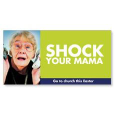 BTC Shock Your Mama XLarge Postcard