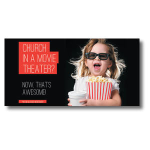 Movie Theater Church XLarge Postcards
