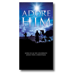 Adore Him Church Postcards