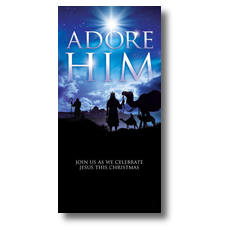 Adore Him XLarge Postcard