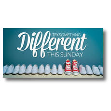 Different Shoes XLarge Postcard