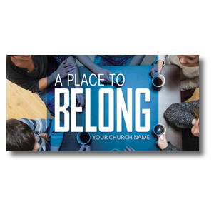Overhead Belong XLarge Postcards