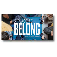Overhead Belong XLarge Postcard