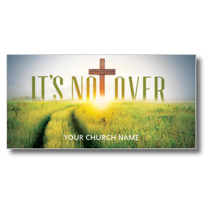 Easter Not Over XLarge Postcards