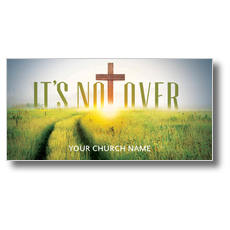Easter Not Over XLarge Postcard
