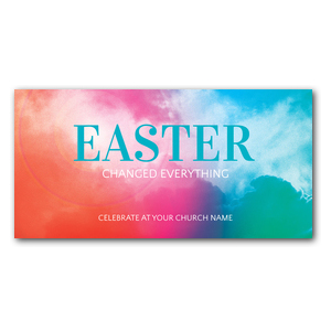 Easter Color XLarge Postcards