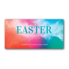 Easter Color XLarge Postcard