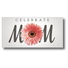 Mom Flower XLarge Postcard
