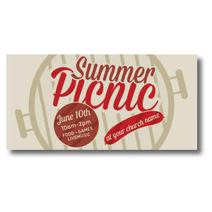 Summer Picnic XLarge Postcards