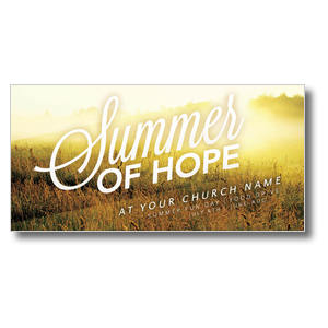 Summer of Hope Church Postcards