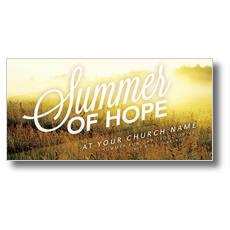 Summer of Hope XLarge Postcard