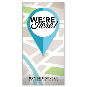 We Are Here Church Postcards