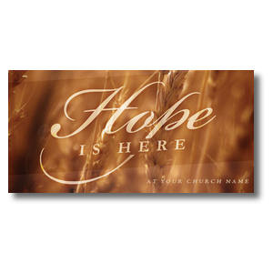 Fall Hope Wheat XLarge Postcards