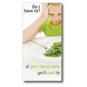 Green Beans Church Postcards