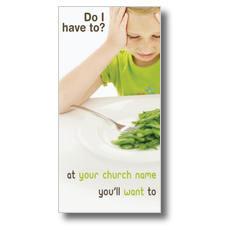 Green Beans XLarge Postcard