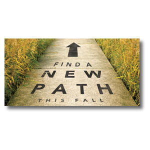 "New Path 11"" x 5.5"" Oversized Postcards"