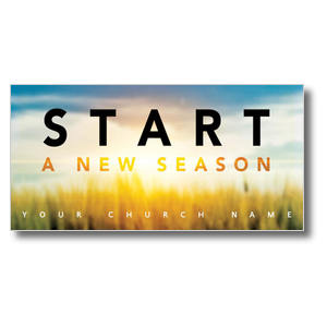 New Season Sunrise Church Postcards