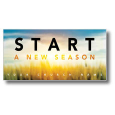 New Season Sunrise XLarge Postcard