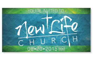 BTCS 2015 Logo Card Church Postcards