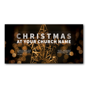 Craft Star Christmas XLarge Postcards