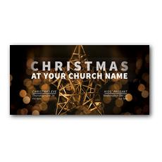 Craft Star Christmas XLarge Postcard