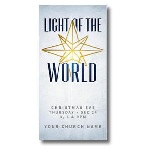 Light of the World Star XLarge Postcards