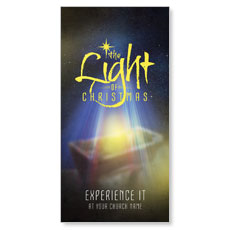 The Light of Christmas XLarge Postcard