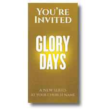Glory Days Church Postcard