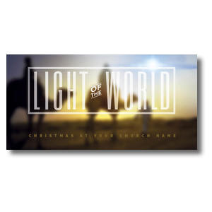 Light of the World Wise Men XLarge Postcards