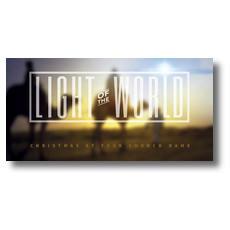 Light of the World Wise Men XLarge Postcard
