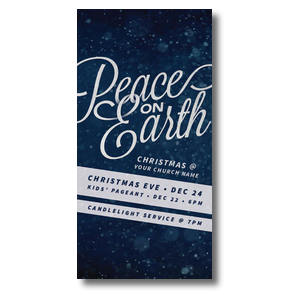 "Peace on Earth 11"" x 5.5"" Oversized Postcards"