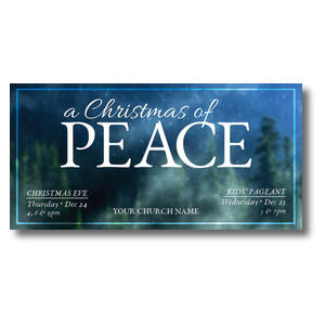 Christmas of Peace XLarge Postcards