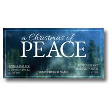 Christmas of Peace XLarge Postcard