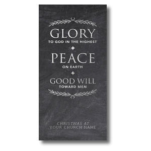 Glory Peace Goodwill XLarge Postcards
