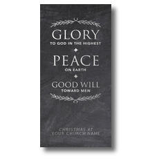 Glory Peace Goodwill XLarge Postcard