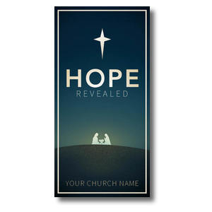 "Hope Revealed 11"" x 5.5"" Oversized Postcards"