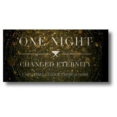 One Night XLarge Postcard