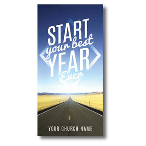 Best Year Ever Church Postcards