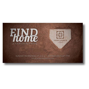 Find Home XLarge Postcards