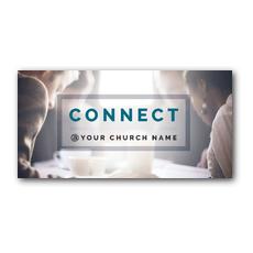 Connect XLarge Postcard
