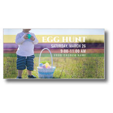 Egg Hunt Toddler XLarge Postcard