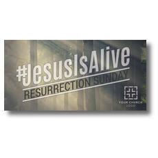JesusIsAlive XLarge Postcard
