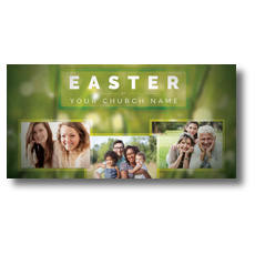 Easter Photos XLarge Postcard