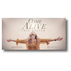 Come Alive This Easter XLarge Postcard
