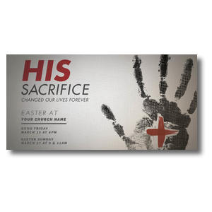 His Sacrifice XLarge Postcards